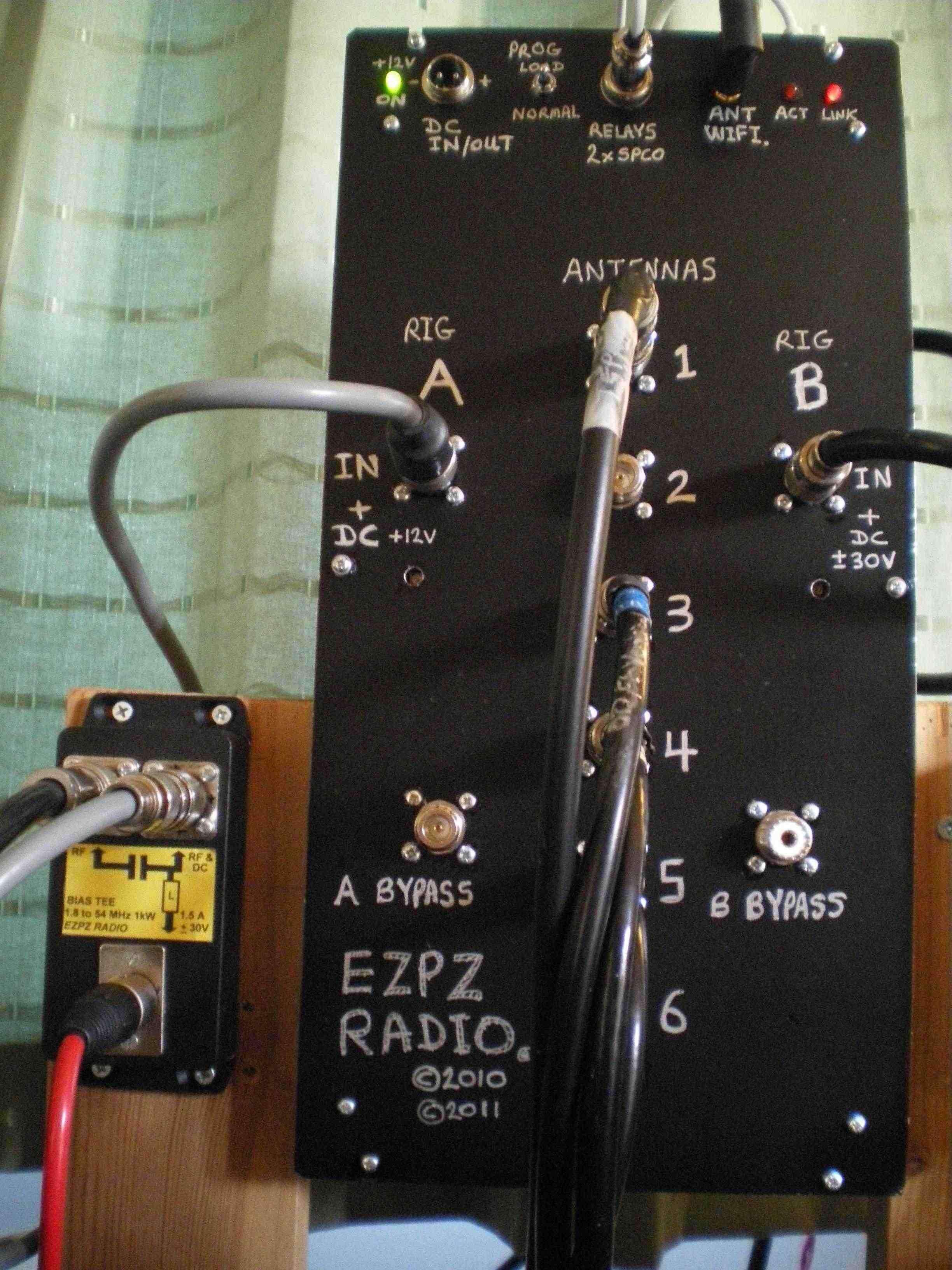 Wifi Remote 6 antennas x 2 radio, Antenna Switch